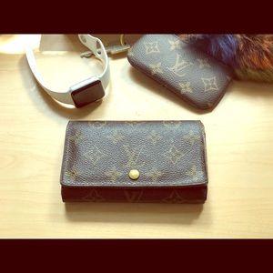 Louis Vuitton Porte Tresor Porte-monnaie Wallet